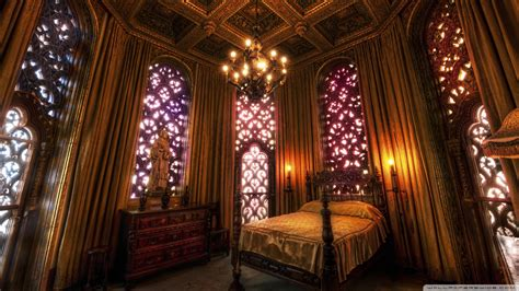 Castle Bedroom by Hearst Castle Bedroom Wallpaper 1920x1080