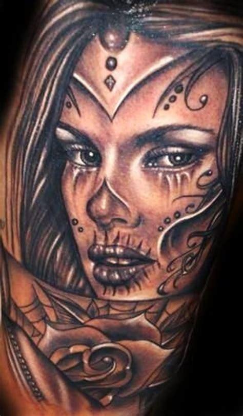 35 dia de los muertos pinup tattoos
