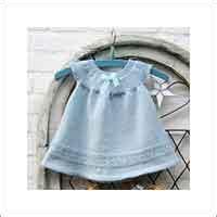 baby jurk breien patroon baby kleertjes breipatronen leuke gratis breipatronen