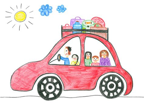 kid car drawing cars drawing for at getdrawings com free for
