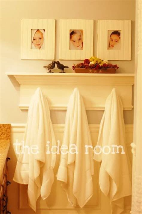 bathroom towel hooks ideas 6 useful diy towel racks craft ideas diy tutorials