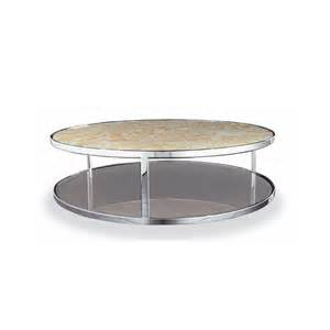 huber round coffee table minotti switch modern