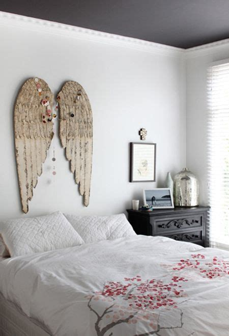 angel bedroom bedroom with angel wings a place for dreaming pinterest