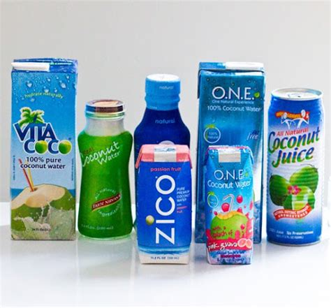 Can You Put Coconut Water In With Your Detox Drinks by They Said Coconut Water Is One Of The Healthiest Things To
