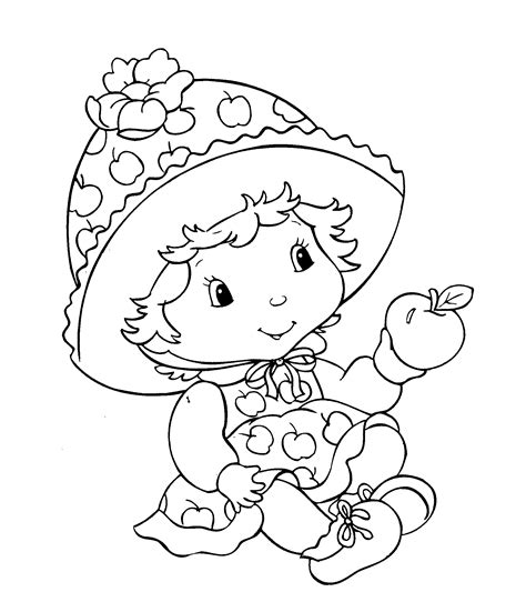 coloring book pages strawberry shortcake strawberry coloring pages coloring pages to print