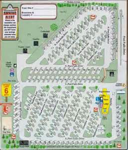 rv parks map rv park map