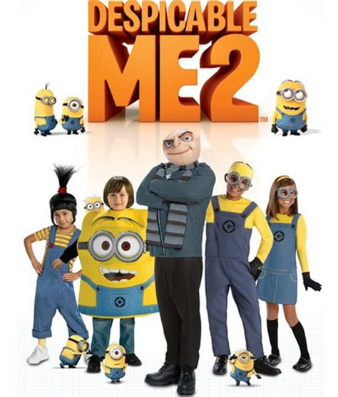 Setelan Hm 2 T Shirt Minion despicable me gru and minion costumes for adults a