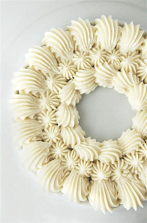 Frosting Decorations by Vanilla Buttercream Frosting