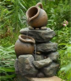 Small Patio Fountain by Jeco Small Pots Water Outdoor Fountain Fountains At
