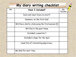 diary writing template ks2 diary entry ks2 powerpoint to teach ks2 primary