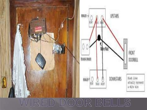 wiring diagram for second doorbell chime wiring get free