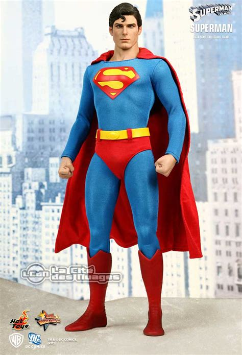 christopher reeve hot toys hot toys superman christopher reeve 30cm collectible