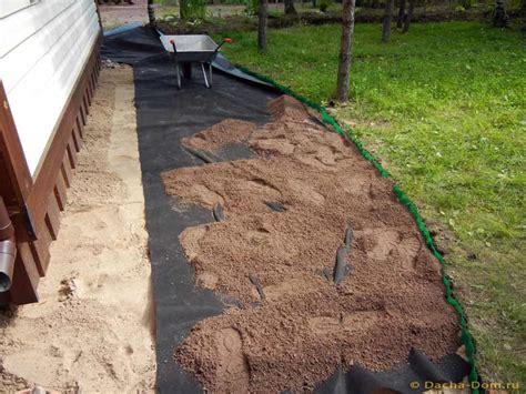 granite sand garden pathways