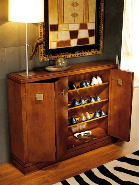 Shoe cabinet design ? 15 ideas for industrial design