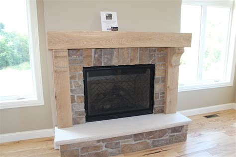 oak mantle fireplace surround other metro by silver