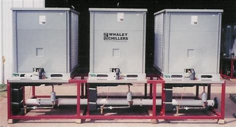 process water chillers  whaley products incorporated