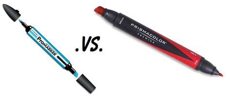 Colors That Work With Gray promarkers vs prismacolor marker comparison myt cr8tiv