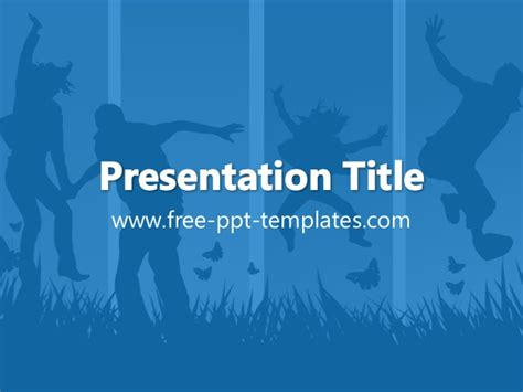 template powerpoint youth youth ppt template