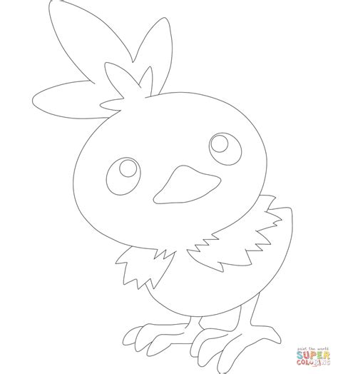 pokemon coloring pages torchic torchic coloring page free printable coloring pages
