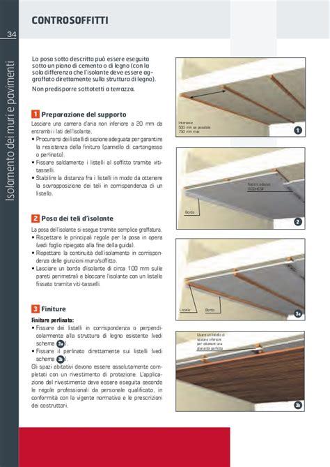 controsoffitto isolamento termico isolamento termico controsoffitti con teli sottili