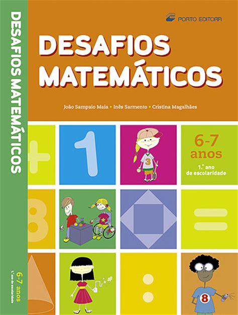 http desafio matematicos 5 b desafios matem 225 ticos 1 186 ano compre livros na fnac pt