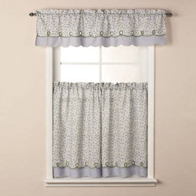 Bed Bath And Beyond Kitchen Curtains Buy Kitchen Curtains Valances From Bed Bath Beyond