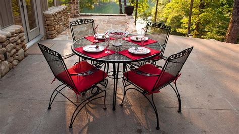 Outdoor Wrought Iron Patio Furniture Outdoor Cushions For Wrought Iron Furniture Home Furniture Design