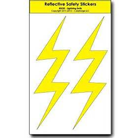 Lightning Bolt Pinewood Derby Car Automotive Gt Exterior Accessories Gt Decals Bumper