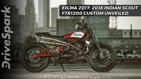 Indian Moto Scout Ftr 1200 by Indian Scout Ftr 1200 Revealed At Eicma 2017 Drivespark