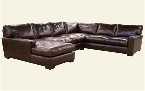 deep leather sectional deep seated leather sectional sofas sofa ideas