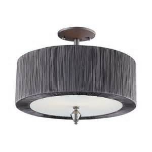 semi flush mount light fixtures 2 light semi flush mount in graphite 11321 2 flush