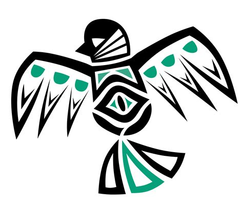 native american inspired sparrow tattoo colour by