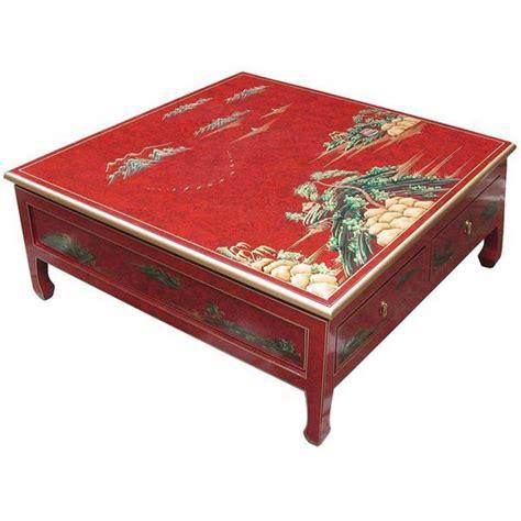 Charmant Lampes De Salon Anciennes #2: table-de-salon-carree-4-tiroirs.jpg