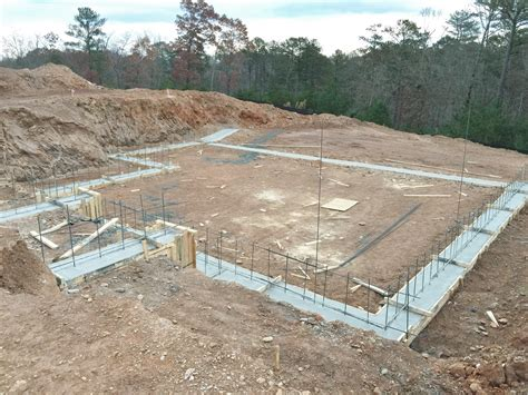 how to pour a basement foundation basement footings wholesteading