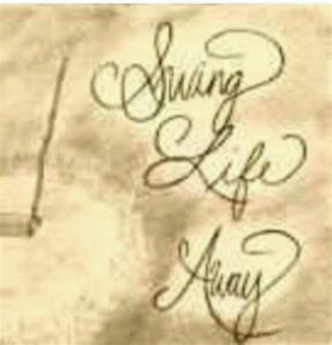 swing life away song meaning 17 best images about tattoos on pinterest family tattoos