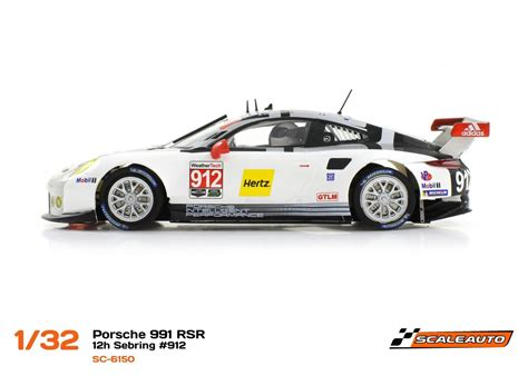R Porsche by Scaleauto Quot R Quot 6150 Porsche 991 Rsr Sebring 2016 912 1 32