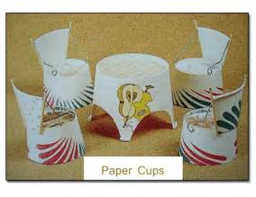 Paper crafts ideas and projects for kids paper table and chairs