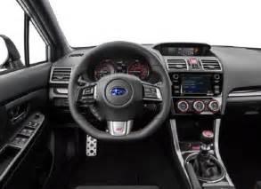 Subaru Wrx Interior 2017 Subaru Wrx Sti Release Date Engine Specs News