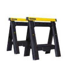 home depot saw horses stanley adjustable sawhorse 2 pack stst60626 the home