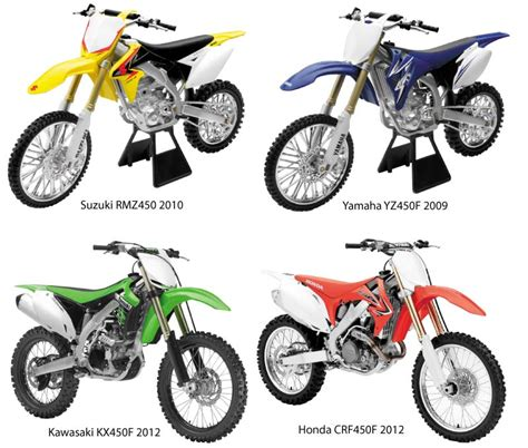toy motocross bikes new ray toys 1 6 scale dirt bikes bto sports