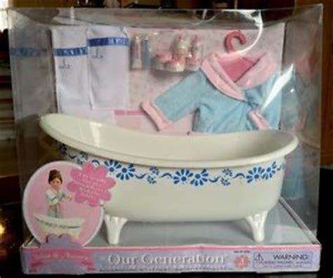 our generation bathtub our generation bathtub accessories 18 quot dolls american