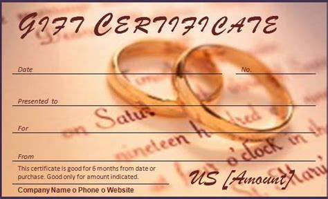 template for alternative gift card 40 gift certificates templates for any occasion