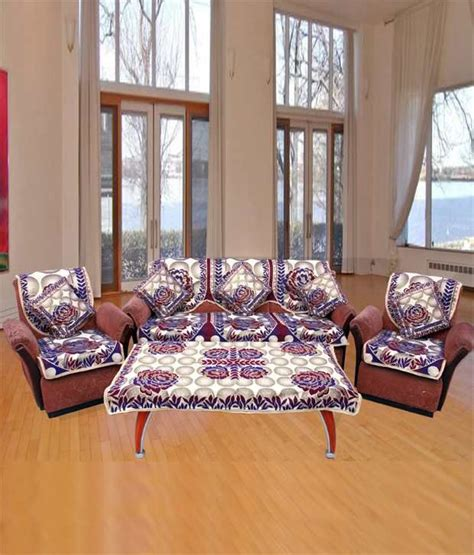 sofa back covers designs fk multicolour sofa cover table cover cushion cover set