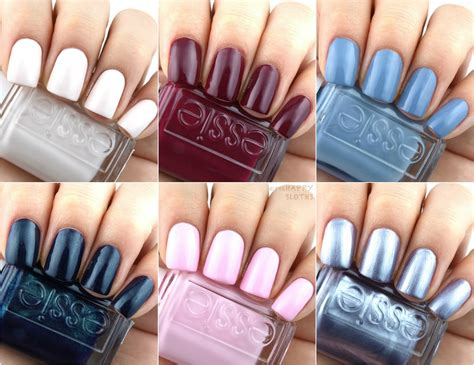 essie colors 90s inspired nail colors essie fall 2017 collection