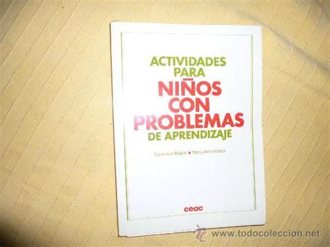 actividades de aprendizaje para ninos actividades para ni 241 os con problemas de aprendi comprar