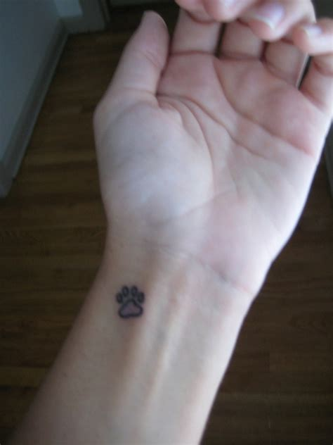 paw meaning the meaning of paw print tattoos