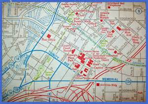Atlanta Attractions Map by Atlanta Map Tourist Attractions Map Travel Holiday