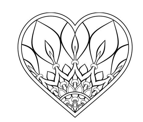 Kronleuchter 6 Buchstaben by Herz Mandalas Als Pdf Zum Kostenlosen Ausdrucken 6 Herz