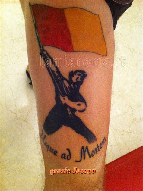 tatuaggi ultras roma la mia roma tattoos