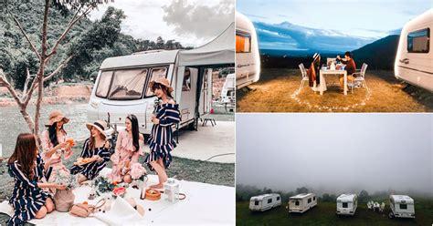 unique caravan resorts  thailand  stay